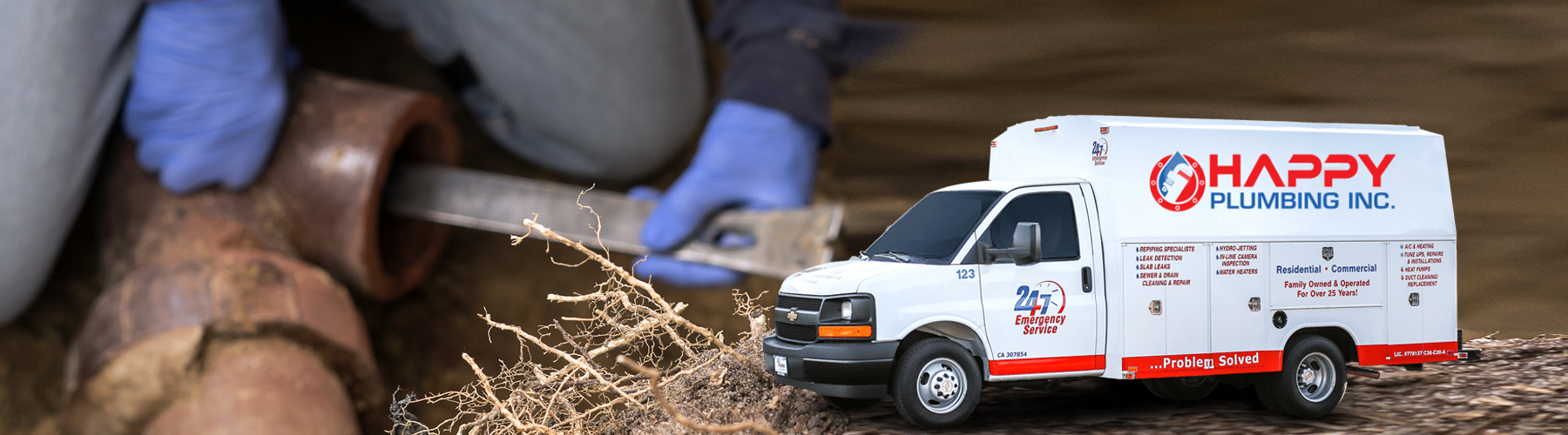 Sewer Liner Repair and Repalcement San Diego